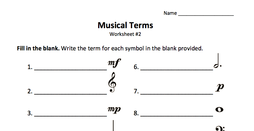 music jargon language Jargon quiz 1 - free download as pdf file  sheet music back search  the language in these activities has not been restricted.