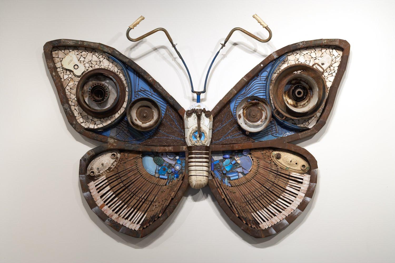 Haul Away Furniture Michelle Stitzlein , an artist from Baltimore, OH, creates art using ...