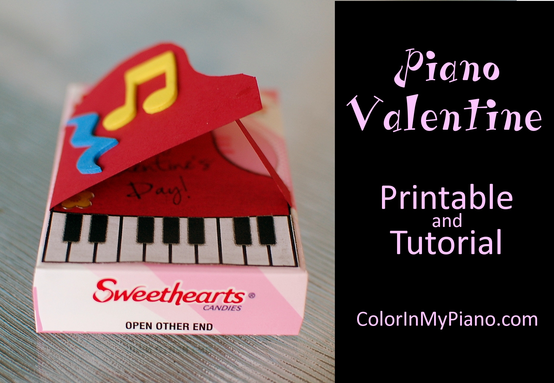 Piano Valentine