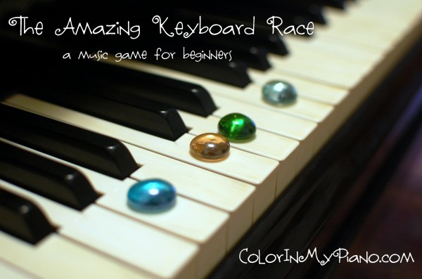 The Amazing Keyboard Race - Color In My Piano