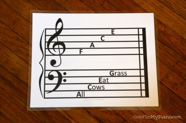 Sweet image throughout beginner piano lessons printable