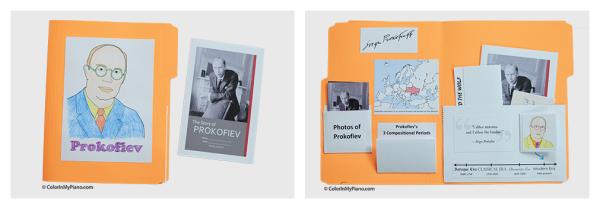 Prokofiev collage