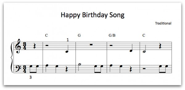Happy Birthday song preview