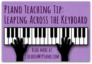blog Teaching Tip - Leaping Across the Keyboard