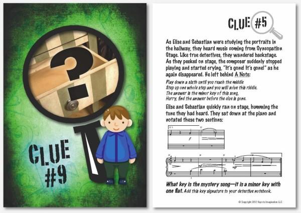 clue card
