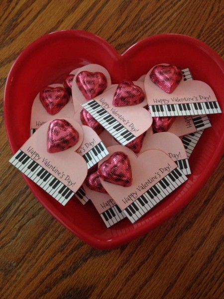 Piano Valentine - Tracy Capps Selle