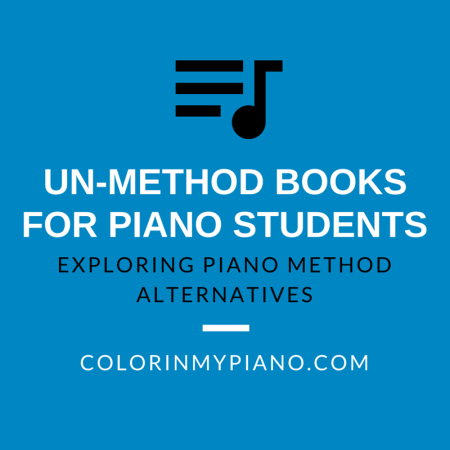 Un-Methods for Piano Students