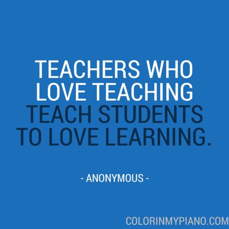 anon teacher loves teaching