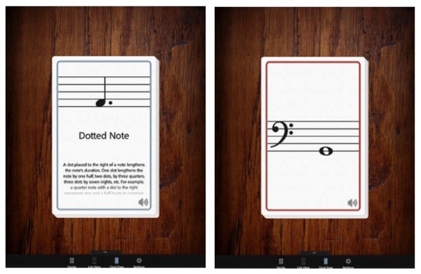 MusicNotes Deck