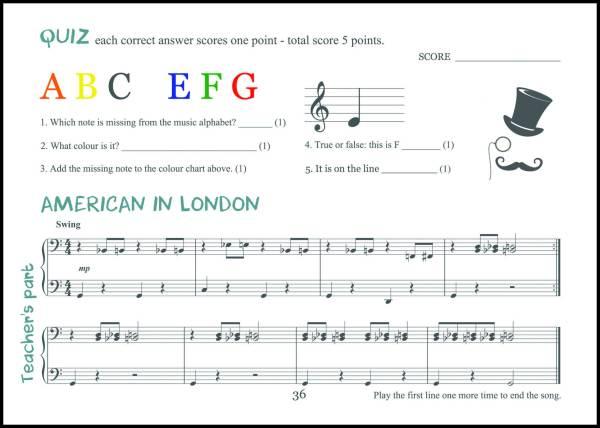 page 36 American in London Teacher