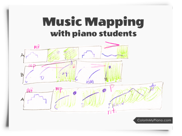 Music Mapping with Piano Students graphic