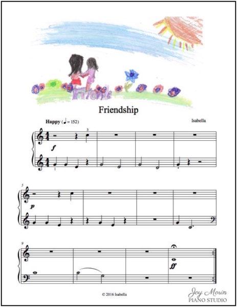 Isabella M - Friendship w